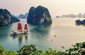 Hanoi Halong Bay Stay Overnight on Boat 5Days/4Nights