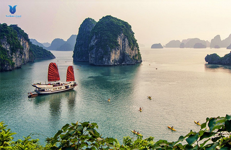 Hanoi Halong Bay Stay Overnight on Boat 5Days/4Nights