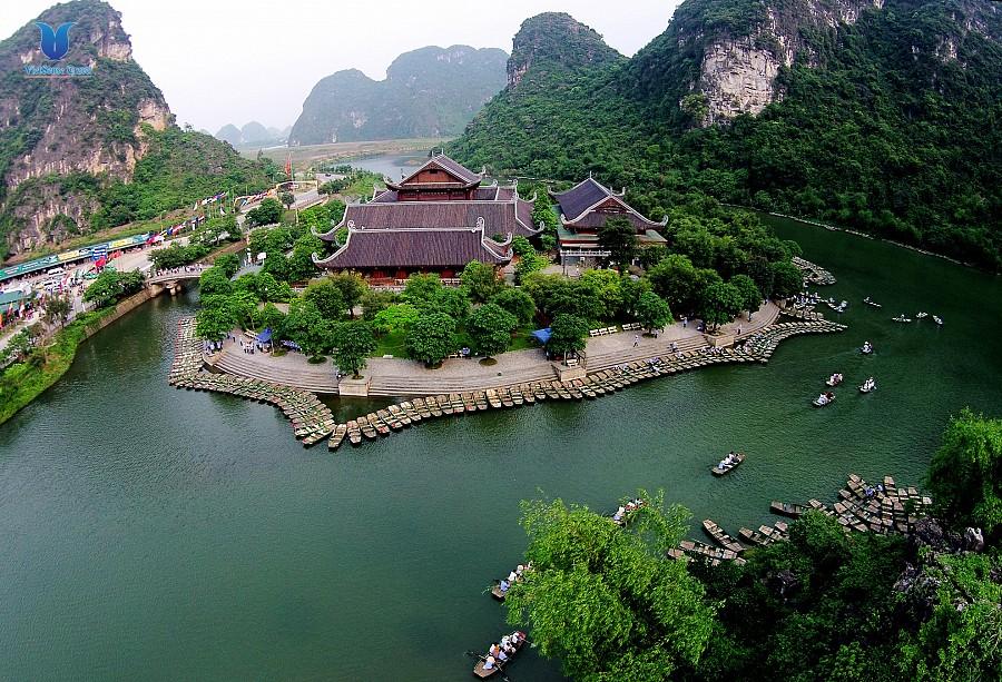 Hoa Lu - Trang An Grottoes Tour full day